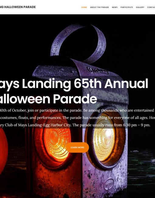 Mays Landing Halloween Parade